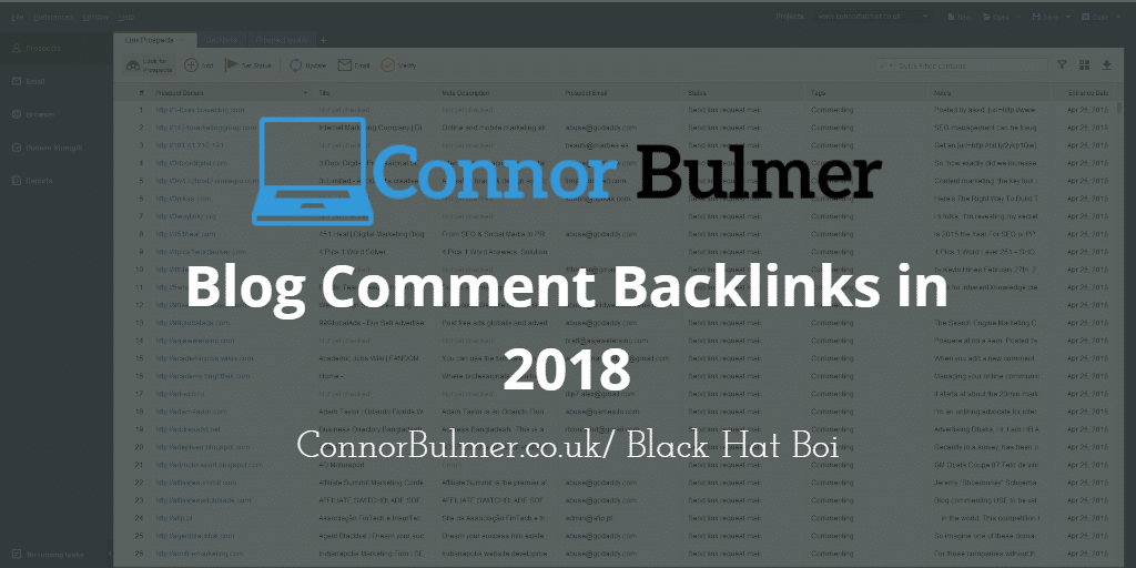 Blog Comment Backlinks in 2018: The Ultimate Guide